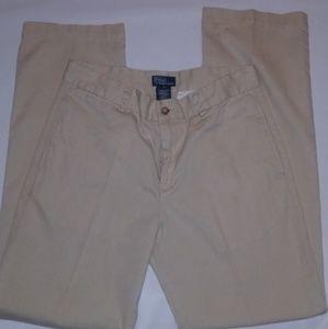 Ralph Lauren Khaki Pants Boys Size 18